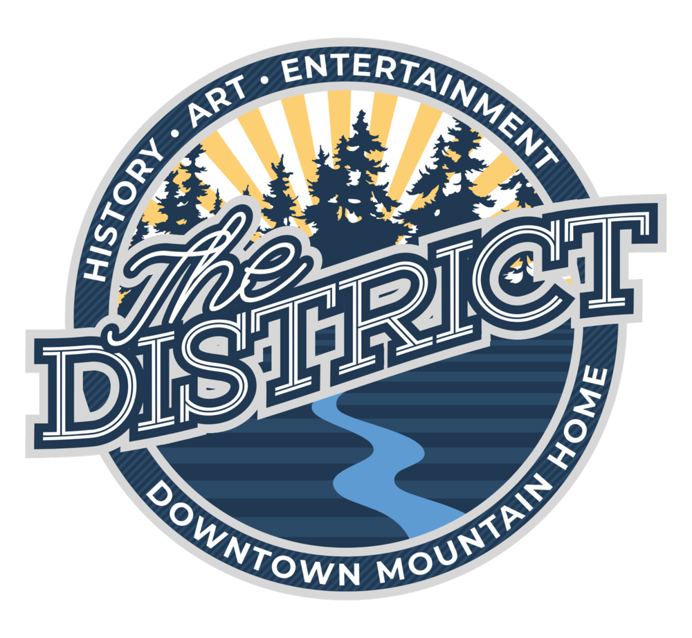 City of Mountain Home Entertainment District logo