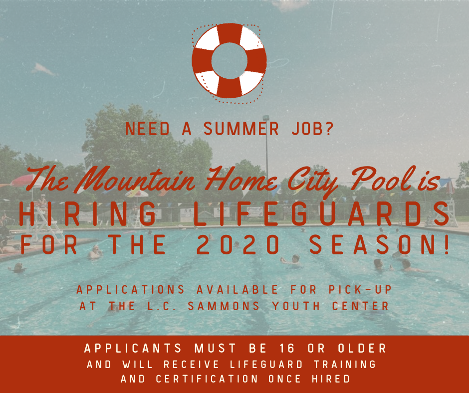 Pool Hiring Flyer
