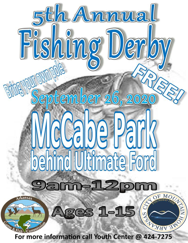2020 Fishing Derby Flyer