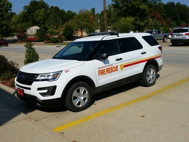 Unit 201 / Chiefs Car - 2015 Ford Interceptor