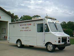 Mtn. Home Special Response Unit Vehicle - 1984 GMC