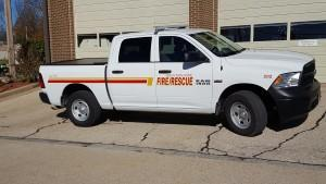 Unit 202 / Inspector Vehicle - 2016 Dodge Truck